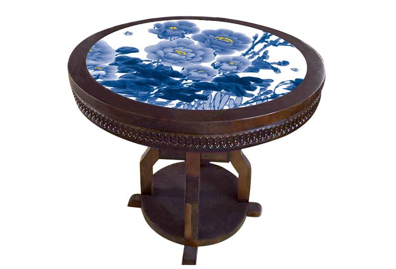瓷板瓷片镶嵌家具