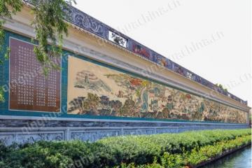 浮雕艺术陶瓷壁画